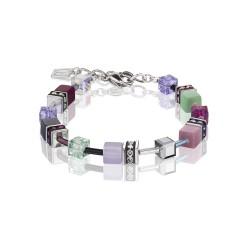 Coeur De Lion 2838/30-1566 Armband Damen GeoCUBE® Multicolor Romance