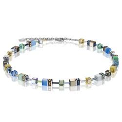 Coeur de Lion 2839/10-1576 Halskette GeoCUBE® Swarovski® Kristalle Gentle