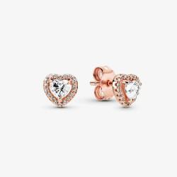 Pandora Rose 288427C01 Ohrstecker Damen Erhabendes Herz