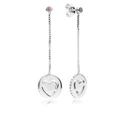 Pandora 296577FPC Ohrringe Echte Liebe