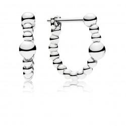 Pandora 297532 Ohrringe Creolen String of Beads Sterling-Silber
