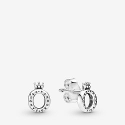 Pandora 298295 Ohrstecker Polished Crown O Sterling-Silber