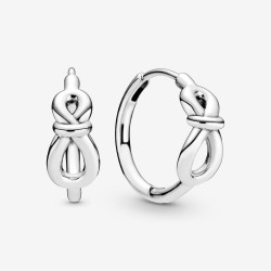Pandora 298889C00 Ohrringe Creolen Damen Unendlichkeitsknoten