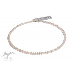 Di Perle 32214674 Halskette Strang Damen Süßwasserzucht-Perlen 45 cm