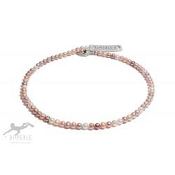 Di Perle 33014135 Halskette Strang Süßwasserzucht-Perlen Multicolor 45 cm