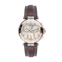 Michel Herbelin 33656/TR59GR Damen-Uhr Newport Chronograph Quarz Leder