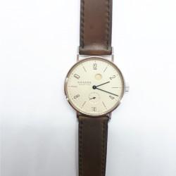 Nomos Glashütte 34631 Armbanduhr Tangente Gangreserve Analog Handaufzug