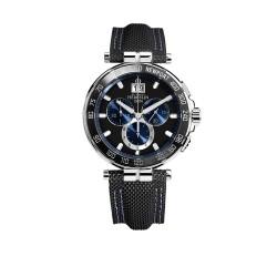 Michel Herbelin 36656/AN65 Herren-Uhr Newport Chronograph Analog mit Leder