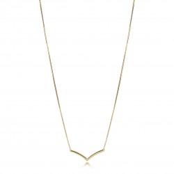 Pandora Shine 367803 Kette Anhänger Shining Wish Gold Silber 45 cm