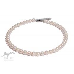 Di Perle 37214256 Halskette Strang Damen Süßwasserzucht-Perlen 45 cm