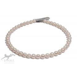 Di Perle 37315147 Halskette Strang Damen Süßwasserzucht-Perlen 45 cm