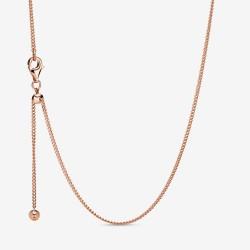 Pandora Rose 388283 Kette Damen Curb Chain Rosé Vergoldet 60 cm