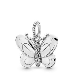 Pandora 397933CZ Anhänger Decorative Butterfly Silber