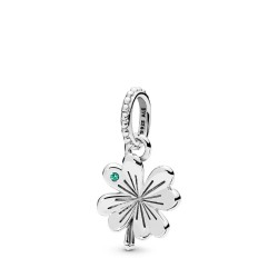 Pandora 397965NAG Anhänger Lucky Four-Leaf Clover Silber