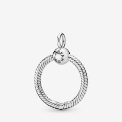 Pandora 398296 Ketten-Anhänger Charmträger Moments O Pendant Silber