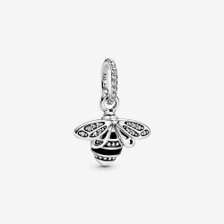 Pandora 398840C01 Anhänger Funkelnde Bienenkönigin Silber