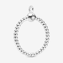 Pandora 399106C00 Ketten-Änhänger Damen Mittelgroßer Metallperlen O Silber