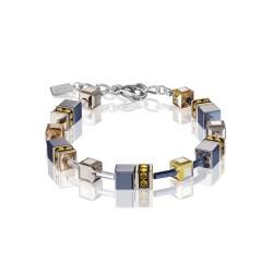 Coeur De Lion 4015/30-0226 Armband GeoCUBE® Swarovski® Topaz