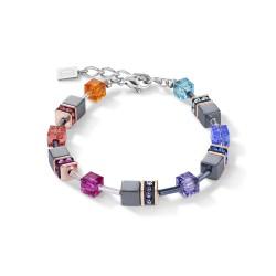 Coeur de Lion 4015/30-1500 Armband Damen GeoCUBE® Multicolor Edelstahl