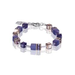 Coeur de Lion 4016/30-0800 Armband GeoCUBE® Swarovski® Lila