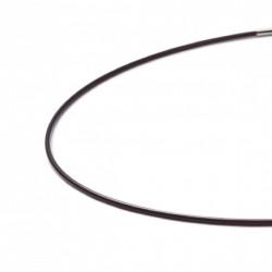 Monomania 40490br Silikon-Band Collier Braun 42 cm