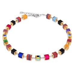 Coeur de Lion 4747/10-1500 Kette GeoCUBE® Swarovski® Multicolor