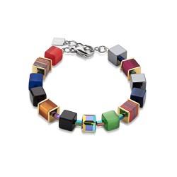 Coeur de Lion Armband Geo Cube Swarovski® 4848/30-1500
