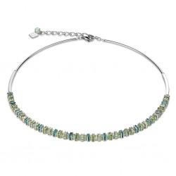 Coeur de Lion Collier Swarovski® Glas mintgrün 4858/10-0522