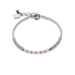 Coeur De Lion 4859/30-0225 Armband Damen Swarovski® & Hämatit Peach