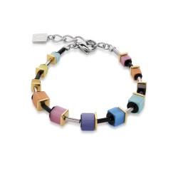 Coeur De Lion 4909/30-1520 Armband GeoCUBE® Bicolor Multicolor