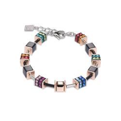 Coeur de Lion 4928/30-1500 Armband Swarovski® Kristalle Strass Multicolor