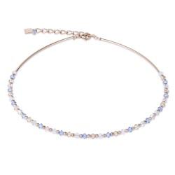 Coeur de Lion 4948/10-0720 Halskette Swarovski® Kristalle Edelstahl Rosé