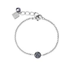Coeur de Lion 4956/30-1700 Armband Y-Lang Kristall Pavé Silber-Ton