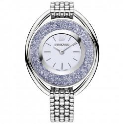 Swarovski 5263904 Damen-Armbanduhr Crystalline Oval Silber