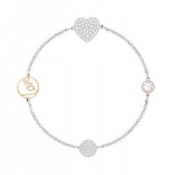 Swarovski 5365760 Armband Remix Heart Rosa