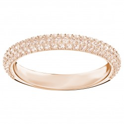 Swarvoski 5412011 Stone Mini Ring, Rosa, Rosé Vergoldung