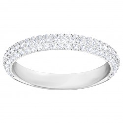 Swarovski 5412033  Stone Mini Ring, Weiss, Rhodiniert
