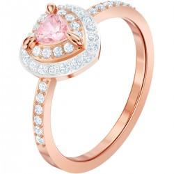 Swarovski Ring Damen One Rosa Weiss Rosé Vergoldung
