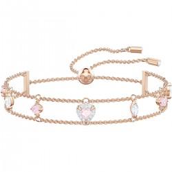 Swarovski 5446304 Armband Damen One Weiss Rosa Rosé Vergoldung