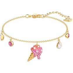 Swarovski 5457498 Armband Damen No Regrets Ice Cream Vergoldet
