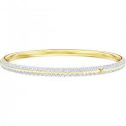 Swarovski 5459263 Armband Armreif Stone Weiss Vergoldet Gr. M