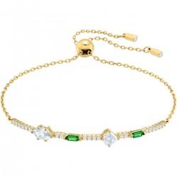 Swarovski 5459399 Armband Damen Oz Weiss Vergoldet