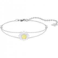 Swarovski 5459594 Armband Damen Sunshine Weiss Silber-Ton