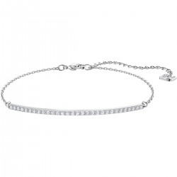 Swarovski 5460440 Armband Damen Only Weiss Silber-Ton