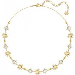 Swarovski 5460987 Halskette Olive Mehrfarbig Vergoldet