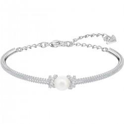 Swarovski 5461083 Armband Armreif Originally Weiss Silber-Ton