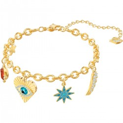 Swarovski 5461796 Armband Damen Lucky Goddess Charms Vergoldet