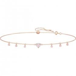 Swarovski 5464162 Choker Kette Halsband Herz Rosé Vergoldung