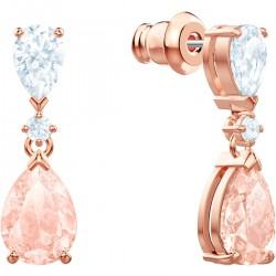Swarovski 5466888 Ohrringe Ohrhänger Vintage Rosa Rosé Vergoldung