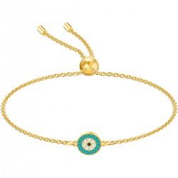 Swarovski 5468923 Armband Damen Luckily Auge Vergoldet